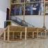 Quando há amolador, há chuva, estrutura de madeira, som dur: 5 min, activado de 30 em 30 min, 2013 / When the knife sharpener is around, it's going to rain, wooden structure, 5 min sound activated every 30 min, 2013