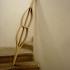 'o sopro de Vilarinho', madeira, 165cm x 40cm x 20cm, 2012 / 'Vilarinho das Furnas rustling', wood, 165cm x 40cm x 20cm, 2012