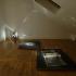 O caminhante, mdf, cartão, projector de slides, fotografia p&b, vidro e sal, dimensões variáveis, 2012 / The wanderer, mdf, cardboard, slide projector, b&w photographs, glass and salt, variable dimensions, 2012