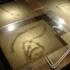 Tejo, mdf, lâmpadas, papel, vidro e sal, 200x100x80cm, 2012 / Tejo, mdf, office lights, paper, glass and salt, 200x100x80cm, 2012