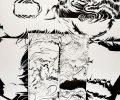 Sem título, tinta da china sobre papel / Untitled, Indian ink on paper / 76 cm x 56 cm, 2013